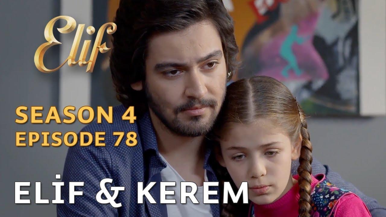 Elif konakta Kerem'le karşılaşır - Elif 638  Bölüm (English subtitles)