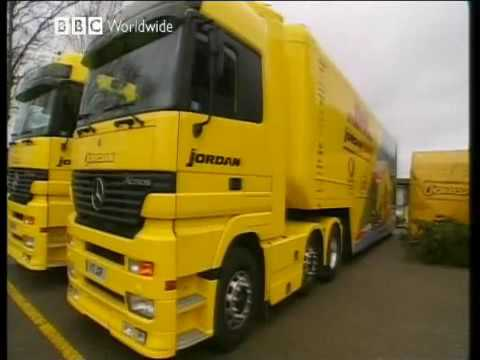 Behind the scenes Jordan GP F1 Team & Eddie Jodan's life 2004