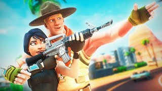 We Helped a 7 Year Old Break his Kill Record! (Fortnite Battle Royale)