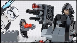 LEGO Star Wars Brick Building STOP MOTION First Order Battle Pack   LEGO Star Wars   By LEGO Worlds