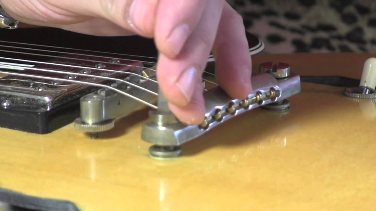 Faber USA Tone-Lock Master Kit tailpiece & bridge replacement for Gibson &  similar guitars