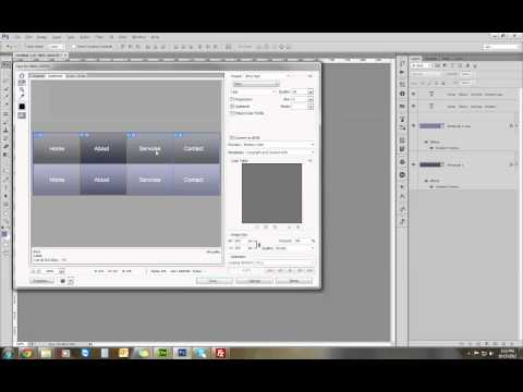 How To Make A CSS Sprite In Photoshop And Bring It To Life.