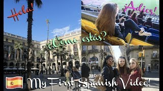 My First Video in Spanish! | Mi primer video en español (WITH ENGLISH SUBTITLES!)