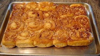 Traditional Sticky Buns/rolls By Diane Love To Bake