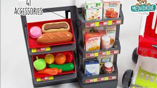 Obchod pro děti Supermarket Smoby elektronický s v