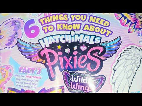 Hatchimals Pixies toys Wilder wings facts for children - Kids magazines #Shorts