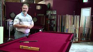How To Level A Pool Snooker Billiard Table