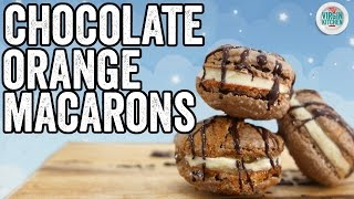 CHOCOLATE ORANGE MACARON RECIPE