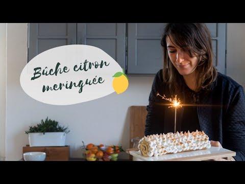 recette-bûche-de-noël-citron-meringué