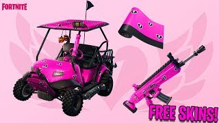 HERE'S WHEN AND HOW TO GET THE *NEW* FORTNITE *VALENTINES SKIN* FOR *FREE* - FORTNITE FREE SKINS!