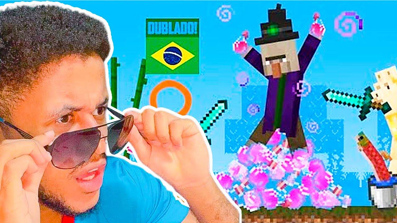 Download ANIMAÇÃO DE MINECRAFT DUBLADA EM PORTUGUÊS