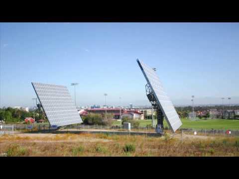 AMONIX SOLAR PANELS AT UC IRVINE -