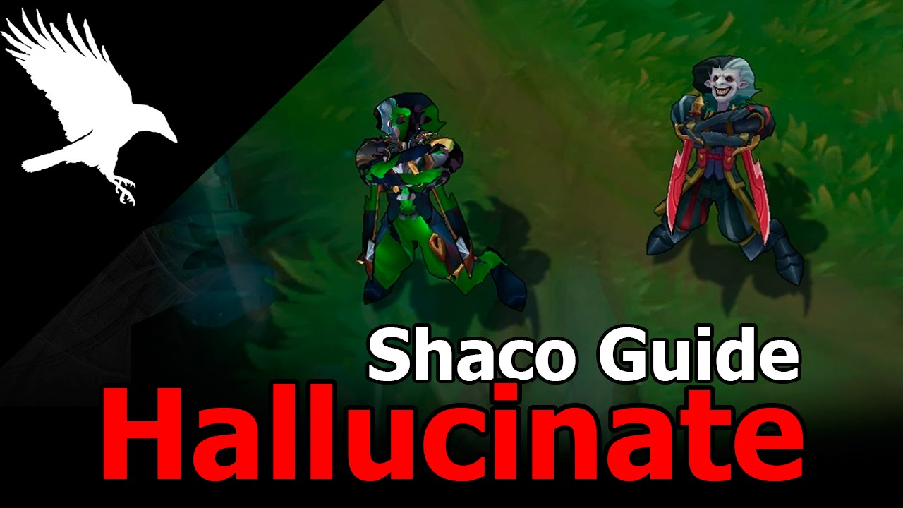 leblanc and shaco how to know which is the clone
