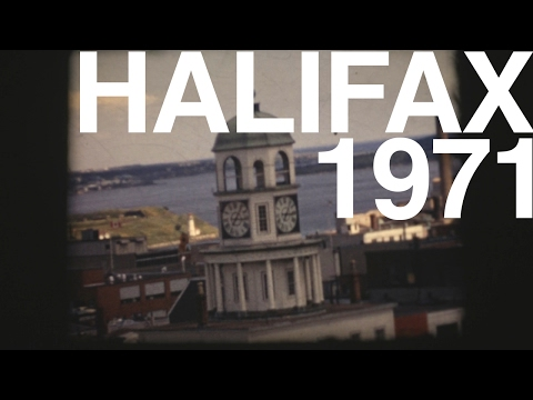 HALIFAX, NS  1971 - 8mm Film