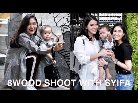 Vlog #19 : 8WOOD Shoot With Cut Syifa