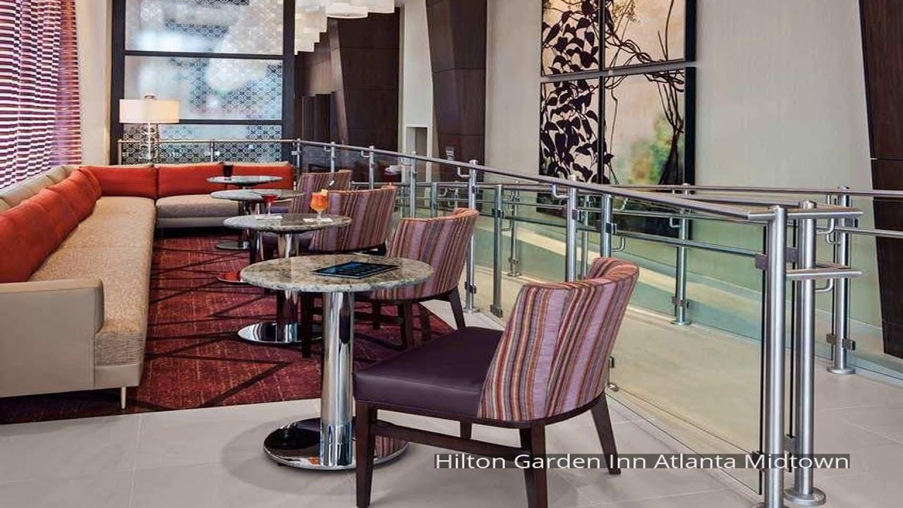 Hilton garden inn atlanta midtown youtube for Hilton garden inn atlanta midtown