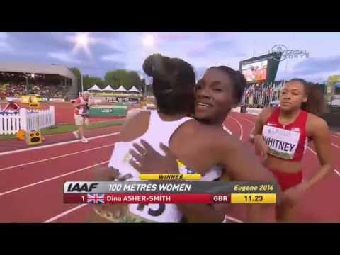 Dina Asher-Smith Takes Gold in Women's 100m – Universal Sports