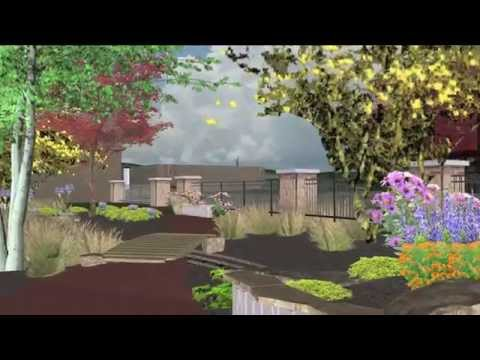 Beaver Dam's Rain Garden Park
