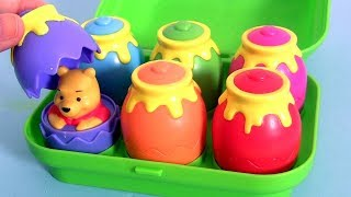 Disney Winnie the Pooh Surprise in Honey Pot unboxing Toys with Tigger Eeyore