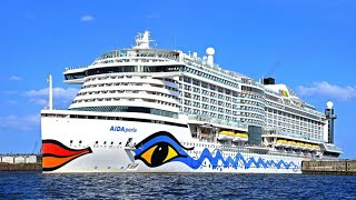 Cruise ship AIDAperla 4K