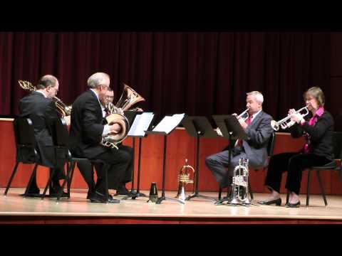 James Stephenson's 'Fanfare for an Angel' by UNCSA Brass Quintet Artist Faculty recital