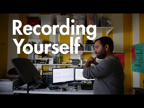Recording Yourself (for personal study)