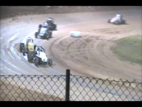 Placerville Speedway - Wingless Sprint - B Main 4/15/17