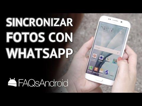 Cómo Sincronizar Fotos De Contactos Con Whatsapp