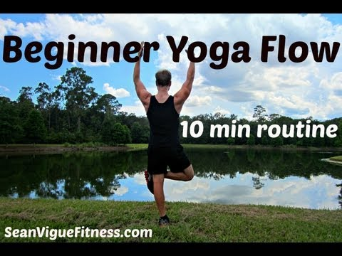 Beginner Yoga Workout - Relaxing Yoga Flow for Complete Beginners