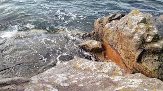 Ar Kleguer camping les pieds dans l'eau