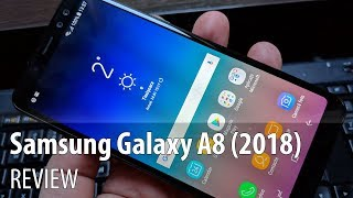 Samsung Galaxy A8 (2018) In-Depth Review (Dual Selfie Camera Samsung Midrange Phone)