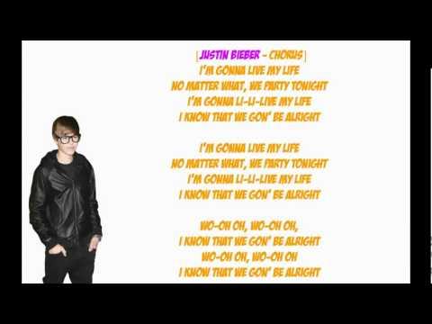Live My Life   Karaoke Justin Bieber