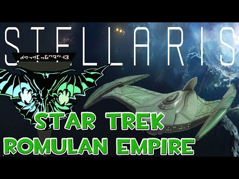 STELLARIS STAR TREK NEW HORIZONS MOD ROMULAN EMPIRE