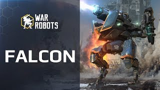 War Robots new 🔥 robot FALCON in WR update 3.9