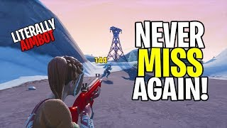 How to NEVER MISS A SHOT IN FORTNITE! NEW AIMBOT GLITCH! HOW TO AIM BETTER IN CONSOLE FORTNITE!