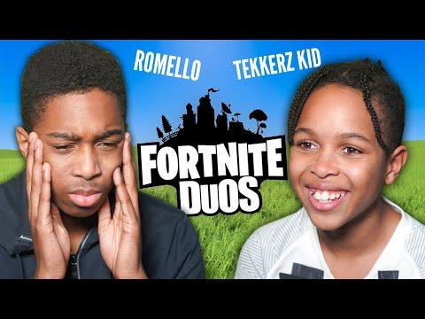THE WORST FORTNITE DUOS TEAM? TEKKERZ KID & ROMELLO