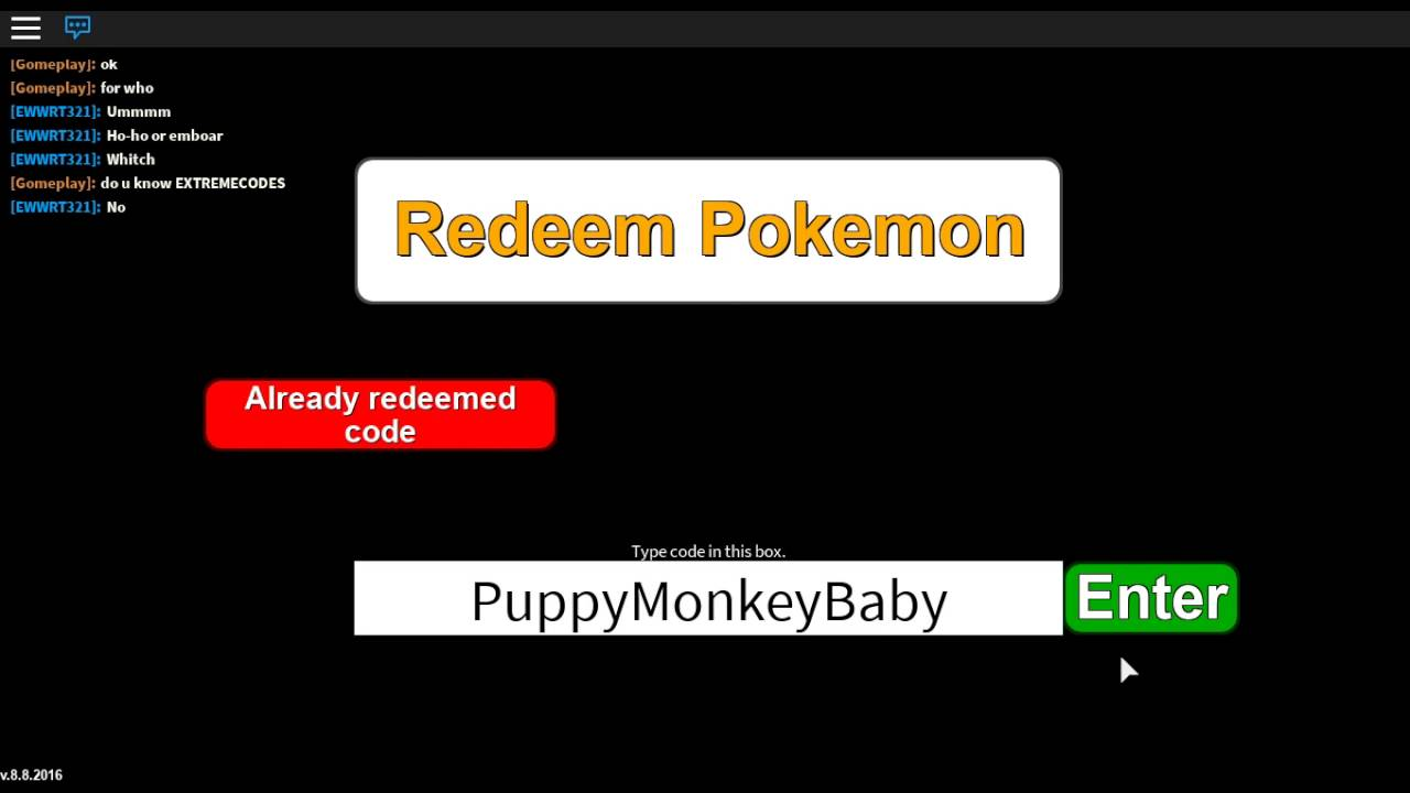 Project Pokemon | 8 New Mystery Gift Codes | Roblox - YouTube