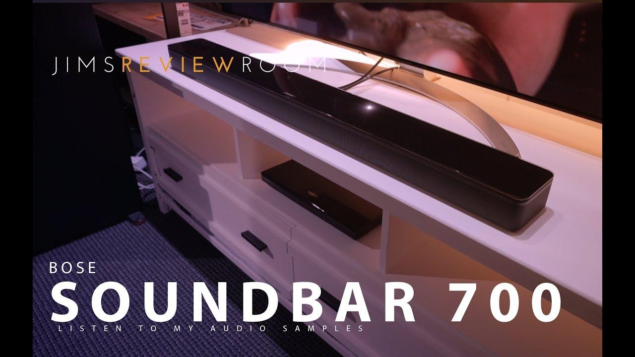 Bose Soundbar 700 - Listen to the Audio Samples! - REVIEW