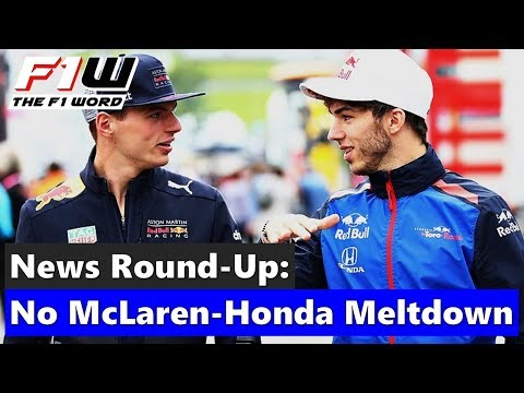 F1 News Round-Up: No McLaren-Honda Meltdown, Ocon On Williams Radar and Vandoorne Joins Formula E