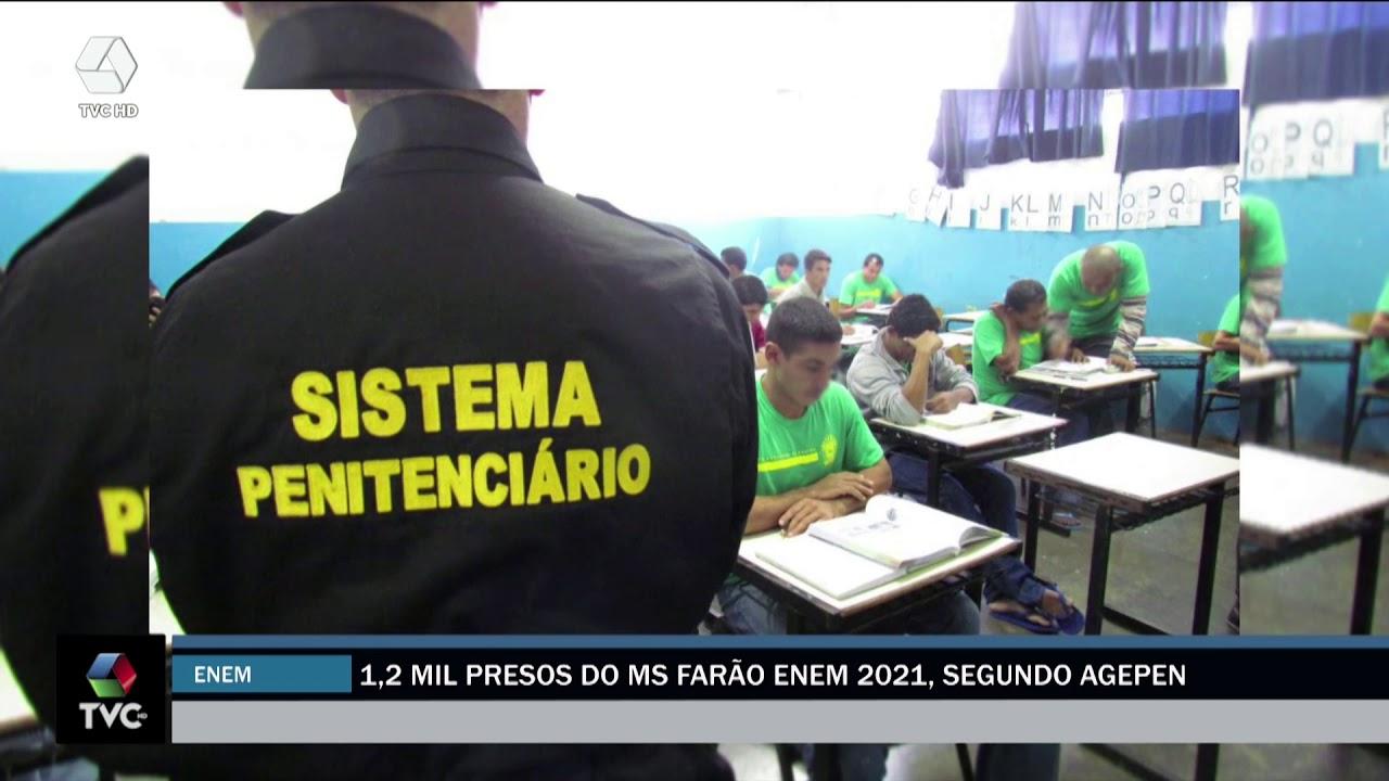Presos vão participar do Enem 2020 em Três Lagoas