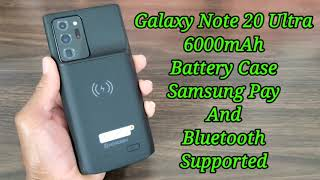 Samsung Galaxy Note 20 Ultra Newdery 6000mAh Battery Case Samsung Pay Supported