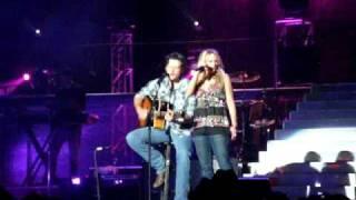 "Blake and Miranda singing ""Home"" 10/24/08"