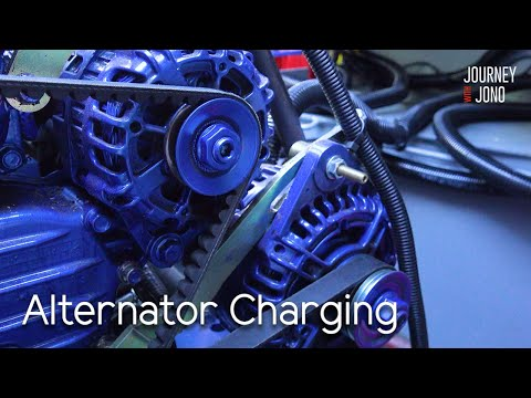 45. Lithium Battery Charging With An Alternator