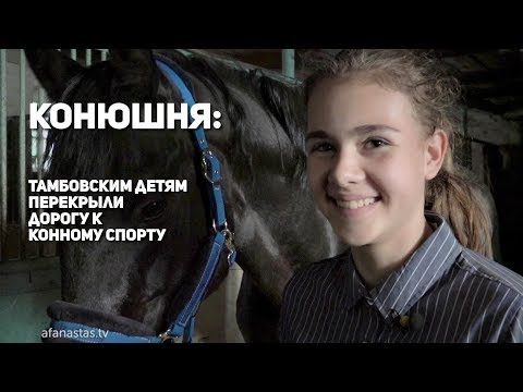 Конюшня: Тамбовским детям перекрыли дорогу к конному спорту