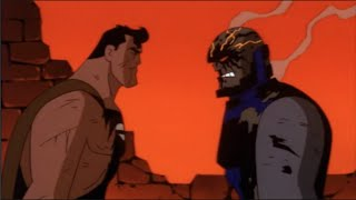 Superman vs Darkseid thumbnail
