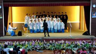 SABS Choir ONE VOICE - Dirgahayu Tanah Airku - Choir Competition 2011