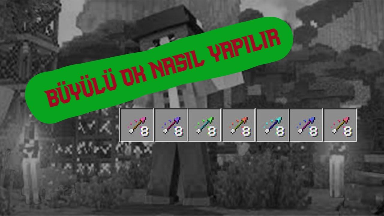 Minecraft - İksirli Ok Yapımı