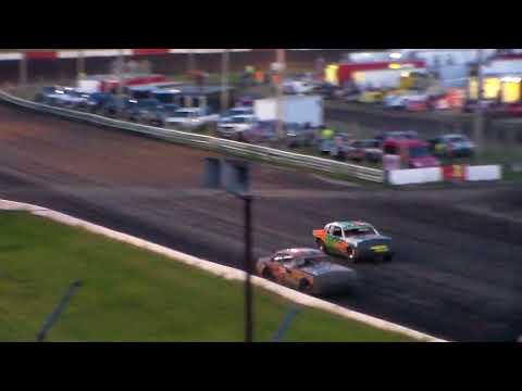 Hobby Stock Heat 2 @ Hamilton County Speedway 09/23/17