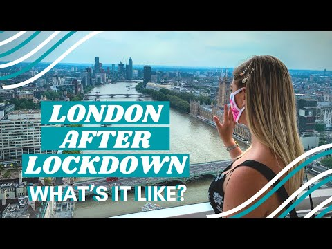 South African spends 48 hours in London post-lockdown 🇬🇧