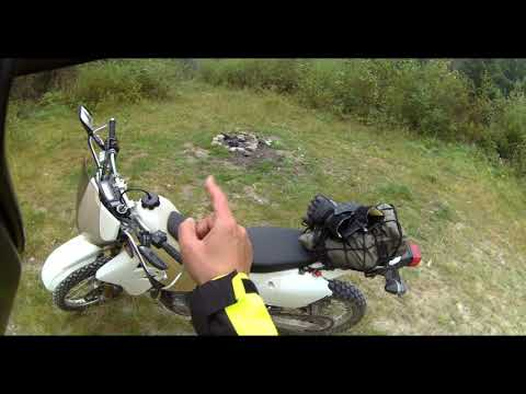 DRZ400S Walk Around and Crash Demonstration